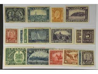 Canada. ★ 1897–1938. All different, e.g. Mi 46(thin), 130A, 154, 165, 168, 181-83, 193, …