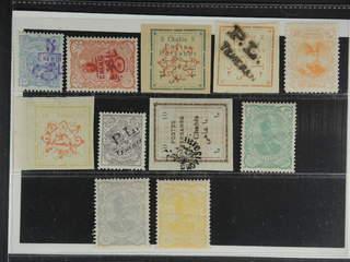 Iran. ★ 1897–1906. All different, e.g. Mi 148-49, 152 II, 154 II, 171 II, 195, 205a, …