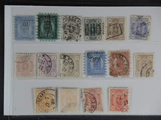Finland. Used 1860–1885. All different, e.g. F 3, 6, 12c1, 14-16c1, 18c1, 19c2. Good …