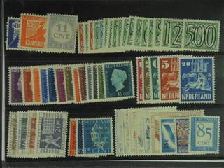 Netherlands. ★ 1923–51. All different, e.g. Mi 134-35, 357-74, 477-89, 558-62, 597-600, …