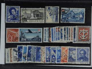 Switzerland. Used 1927-47. All different, e.g. Mi 309, 324, 394, 463, 470, 479,. Mostly …