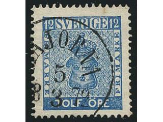 Sweden. Facit 9d3, O county. MAJORNA 5.3.1872, circle cancellation. Postal:600:-