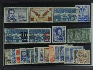 Switzerland. Used 1928–38. All different, e.g. Mi 233x, 249, 258, 292-93, 296, 309-10, …