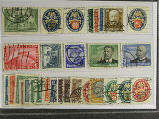 Germany Reich. Used 1924–34. All different, e.g. Mi 367, 377, 400, 403-06, 428, 455, …