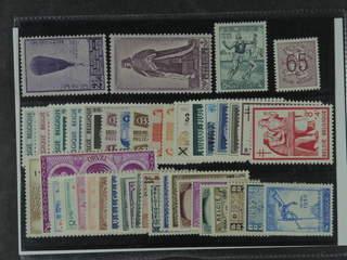 Belgium. ★ 1932–51. All different, e.g. Mi 346, 797, 871, 909-13, Parcel 33-37, and 64. …
