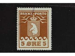 Denmark Greenland. Facit P6 III used , 5öre red-brown. Very fine . quality.. Part of …