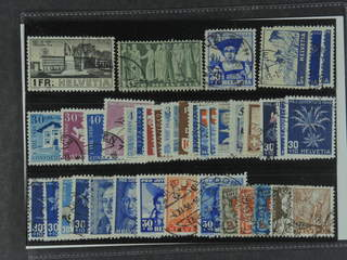 Switzerland. Used 1924–50. All different, e.g. Mi 324, 330v, 362, 394, 474, 548-49, and …