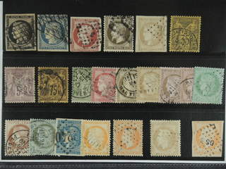 France. Used 1849-1886. All different, e.g. Mi 3-4, 16, 29, 40, 75-76, 82. Mostly good …