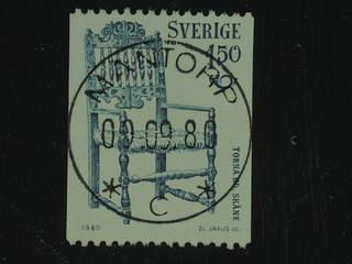 Sweden. Facit 1132 used , 1980 Norden 1.50 Kr blue-green. EXCELLENT cancellation MANTORP …