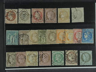 France. Used 1862–1876. All different, e.g. Mi 25-26, 31, 33, 40, 47, and 56 I. Mostly …
