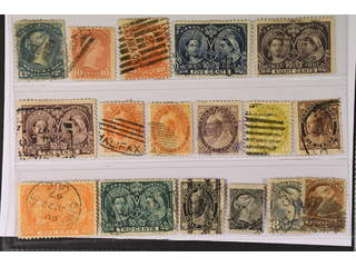Canada. Used 1868–1898. All different, e.g. Mi 23, 31, 36, 42, 44-45, 59, 70-71. Mostly …