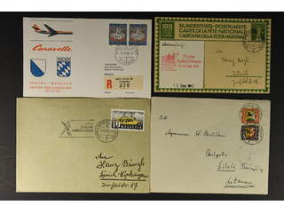 Switzerland. Covers. 39 covers and cards mostly 1930-1960's incl. many Registered, some …
