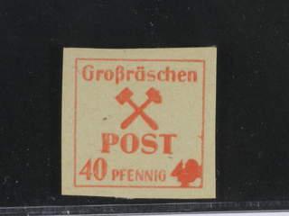 Germany Local emissions. Michel 41P ★★ , 1945 Grossräschen 40 pf proof. Signed Kunz BPP. …