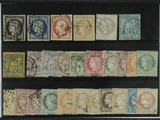 France. Used 1849-1877. All different, e.g. Mi 3-4, 16, 40, 47, 60 I, 75. Mostly good …