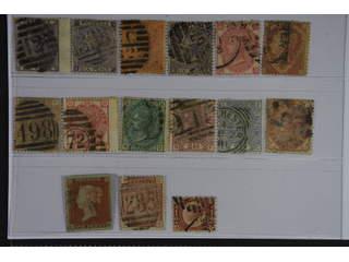 Britain. Used 1841-1880. All different, e.g. Mi 14, 20, 24-25, 28, 37, 40-41, 46-47, 51, …
