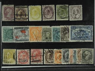 Canada. Used 1859-1911. All different, e.g. Mi 31, 59, 68, 71-72, 81, 87-88. Mostly good …