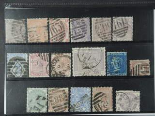 Britain. Used 1858-1883. All different, e.g. Mi 20, 24, 28, 30, 40, 47, 51, 57-58, 62. …