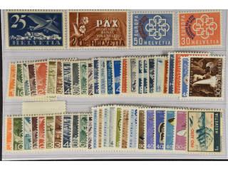 Switzerland. ★★ 1923–55. All different, e.g. Mi 180x, 456, 681-82, Officials 64-74, …