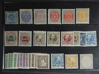 Denmark. ★ 1854–1924. All different, e.g. F 3, 20-21, 22(★), 31, 45, 48-49, 66, 72, 74, …
