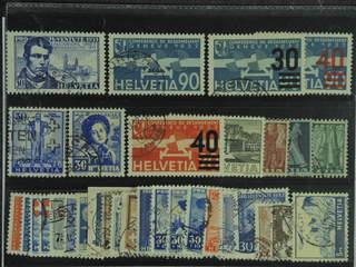 Switzerland. Used 1928–41. All different, e.g. Mi 249, 258, 292-93, 296, 309-10, 324, …