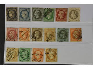 France. Used 1849–1862. All different, e.g. Mi 3-4, 10-11, 16, 26, 31. Mostly good …
