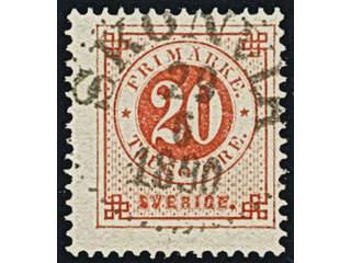 Sweden. Facit 46, Y county. SKÖNVIK 29.6.1890. EXCELLENT cancellation.