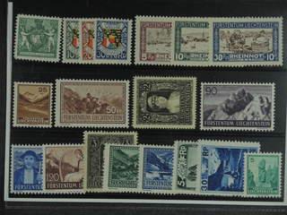 Liechtenstein. ★ 1921–38. All different, e.g. Mi 50B, 75-80, 131, 135, 140, and 166. …
