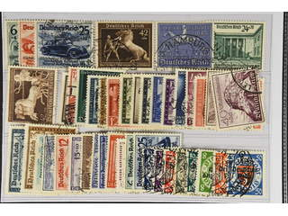 Germany Reich. Used 1939–41. All different, e.g. Mi 695-97, 698-99, 743, 747. Mostly …