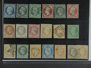France. Used 1852–1870. All different, e.g. Mi 9-11, 16, 18, 23, 25-26, and 31. Mostly …