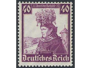 Germany Reich. Michel 588–97 ★★ , 1935 Charity - Folk costumes SET (10). EUR180