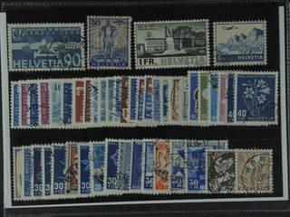 Switzerland. Used 1928–51. All different, e.g. Mi 258, 296, 324, 394, 434, 528, 548-49, …