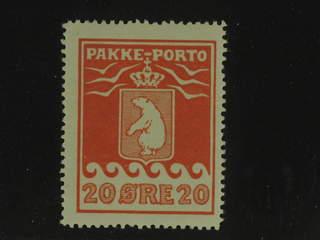 Denmark Greenland. Facit P9 I ★★ , 20 øre red. Good centering.