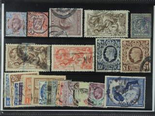 Britain. Used 1902–48. All different, e.g. Mi 112-13, 115, 141 III, 164, 186-87, 214, …