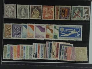 Switzerland. ★ 1881–1947. All different, e.g. Mi 57 (★), 61, 108, 129, 143-45, 181-82, …