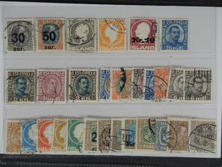 Iceland. Used 1902–22. All different, e.g. F 101-02, 111, 113, 122v, 134, 143, 154, 156. …