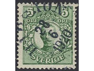 Sweden. Facit 79, D county. HARSJÖN 28.6.1920. Postal:200:-