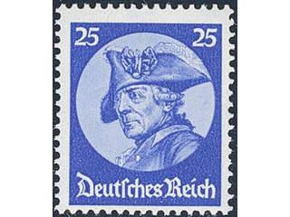 Germany Reich. Michel 481 or Scott 400 ★★ , 1933 Parliament 25 pf ultramarine. EUR310