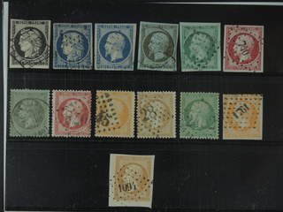 France. Used 1849–1862. All different, e.g. Mi 3-4, 9-11, 16, 18, and 23. Mostly good …