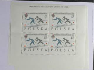 Poland. Michel 1294–96C ★★ , 1962 Ski World Champ. I SET perf 11 × 11½ (3). MINISHEET …