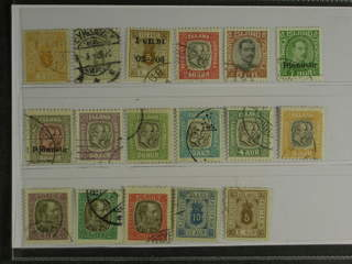 Iceland. Used 1876-1936. Officials ,All different, e.g Tj 10-11, 16, 38, 52, 56, 58. …