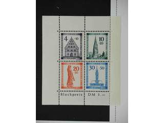 Germany French Zone. ★★/★ 1945–49. Baden, All different, e.g. Mi 37, 37-41A, 42-45A, 46, …