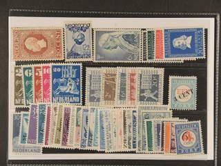 Netherlands. ★ 1913–58. All different, e.g. Mi 86, 276, 290, 558-62, 583-86, 596-600, …