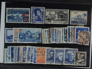 Switzerland. Used 1927-46. All different, e.g. Mi 293, 309, 324, 394, 434, 438, 463. …