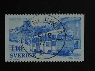 Sweden. Facit 1017 used , 1977 Local Transport 1.10 Kr light blue. EXCELLENT …