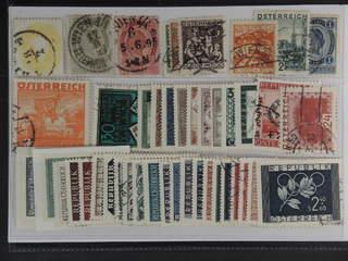 Austria. Used 1860–1955. All different, e.g. Mi 18, 62, 68, 442-44, 446, 586, 884, 952, …