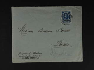 Russia Post in Levant - Steamer company. Michel 65 cover , Cover sent from …