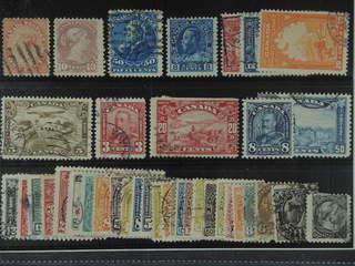 Canada. Used 1859-1930. All different, e.g. Mi 10, 31, 37, 111, 120-23, 126, 130, 136, …