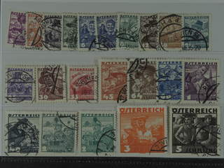 Austria. Michel 567–87 used , 1934 Folk costumes SET (22). Including both 6g and 2S. …