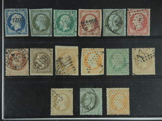 France. Used 1852–62. All different, e.g. Mi 9-11, 16, 18, 23, 25, and 29. Mostly good …