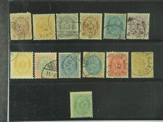 Iceland. Used 1873–1901. All different, e.g. F 3PT, 8, 11, 13, 15, 17, 21–22, 28–29. …